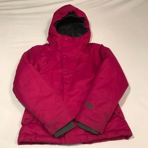 THE NORTH FACE GIRLS SMALL 7/8 WINTER COAT
